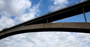 bridge detaljsibenik Arkivbild