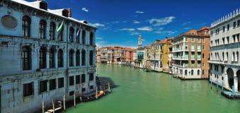 bridge Di ponte όψη της Βενετίας rialto Στοκ Φωτογραφία