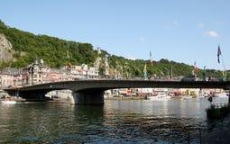 Bridge in Dinant Royalty Free Stock Photos