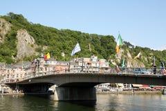 Bridge in Dinant Stock Photo