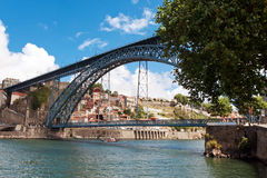 Bridge Dom Louis, Porto, Portugal Stock Photos