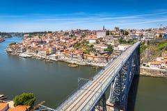 Bridge Dom Louis, Porto, Portugal Stock Photos