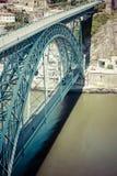 Bridge Dom Louis, Porto, Portugal Stock Image