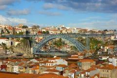 Bridge Dom Luis I in Porto Royalty Free Stock Image