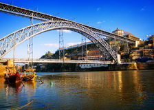 Bridge of Dom Luis , Portugal Royalty Free Stock Photo