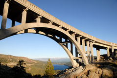 Bridge at Donner Summit Royalty Free Stock Photography