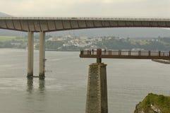Bridge of  dos Santos in Ribadeo Royalty Free Stock Photo