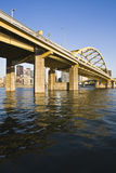Bridge in Downtown Pittsburgh Stock Photography