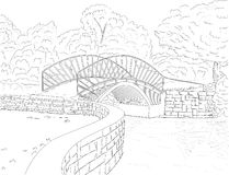 Bridge Drawing Stock Photos