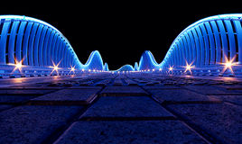 Bridge in Dubai Royalty Free Stock Image