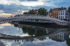Bridge in Dublin Royalty Free Stock Images