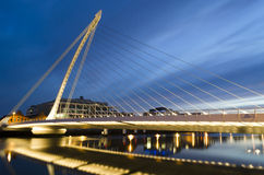 Bridge in Dublin, Ireland. Stock Image