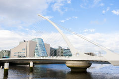 Bridge in Dublin Stock Image