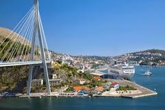 Bridge in Dubrovnik Royalty Free Stock Photos