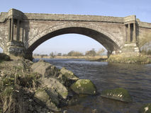 Bridge of Dun over River South Esk Royalty Free Stock Photography