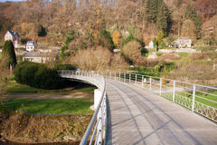 Bridge in Durbuy Royalty Free Stock Image