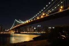 bridge dusk manhattan Στοκ εικόνα με δικαίωμα ελεύθερης χρήσης