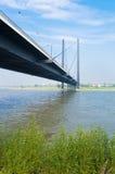 Bridge in dusseldorf, germany Royalty Free Stock Image