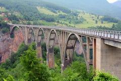 The bridge Dzhurzhevicha Royalty Free Stock Photos