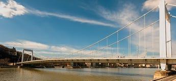 bridge elisabeth Arkivbild