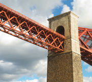 Bridge End. End of Forth Rail Bridge royalty free stock photos
