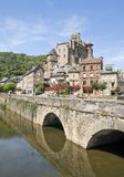 Bridge at Estaing Stock Photo