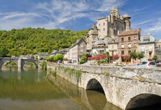Bridge at Estaing Stock Photography