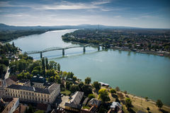 Bridge in Esztergom Royalty Free Stock Image