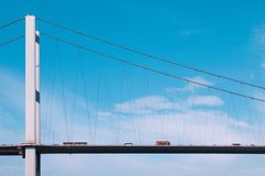 Bridge from Europe to Asia Royalty Free Stock Images
