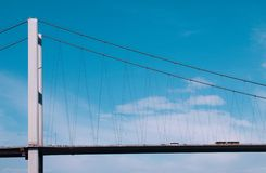 Bridge from Europe to Asia Stock Photography