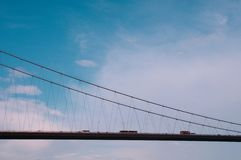 Bridge from Europe to Asia Royalty Free Stock Photos
