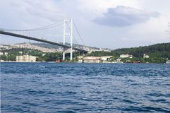 Bridge from Europe to Asia Stock Image