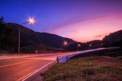 Bridge in the evening Stock Images