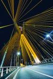 Bridge, Evening, Highway, Light Royalty Free Stock Photo