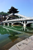 Bridge at fenghuang ancient town Royalty Free Stock Photography