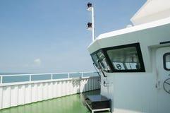 Bridge of the ferry Royalty Free Stock Image