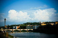 Bridge in Florence Stock Photography