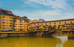Bridge in Florence Royalty Free Stock Images
