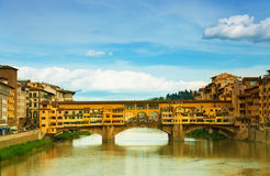 Bridge in Florence Royalty Free Stock Photo