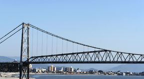 Bridge in Florian�polis royalty free stock photo