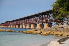 Bridge In Florida Keys Stock Photography