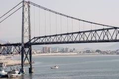 Bridge in Floripa royalty free stock image