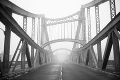 Bridge in fog Royalty Free Stock Image