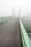 Bridge fog Stock Images