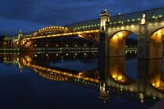 bridge foot Στοκ φωτογραφία με δικαίωμα ελεύθερης χρήσης