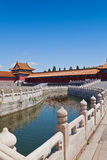 Bridge in Forbidden City Royalty Free Stock Photography