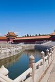 Bridge in Forbidden City Royalty Free Stock Photography