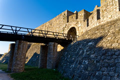 Bridge and the fortress gate Royalty Free Stock Photos
