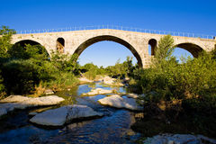 Bridge in France Stock Photo