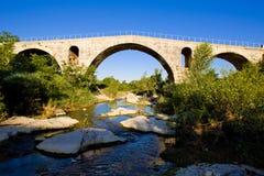 Bridge in France Stock Photo